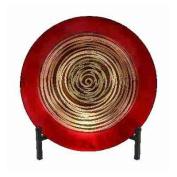 UMA Enterprises Loft Glass Bowl / Metal Easel