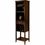 Winsome 94822 Palani Wine Tower - Walnut