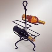J & J Wire 4-Bottle Wine Holder