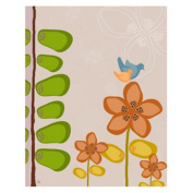 Green Leaf Art YS301010bC Green Leaf Canvas Art Bird on Flower 2