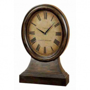UMA Enterprises Urban Trends Wood Table Clock