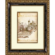 Pro Tour Memorabilia Walt Disney Signature Giclee II Framed Print #217B Inspired by Cinderella   20'' x 16''