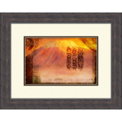 Pro Tour Memorabilia Walt Disney Signature Giclee V Framed Print #218B Inspired by The Lion King   16'' x 20''