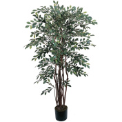Nearly Natural 5082 Ruscus Silk Tree 4 ft