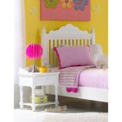 Hillsdale Furniture Lauren Nightstand, White
