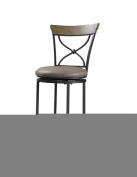 Hillsdale Furniture Charleston 102.9cm X-Back Swivel Counter Stool, Desert Tan Finish