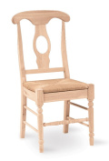 Empire Rush Seat Unfinished Solid Wood Dining Chairs