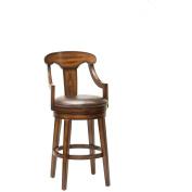 Hillsdale Furniture Upton 105.4cm Swivel Counter Stool, Rustic Oak Finish