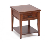 Magnussen T1392-03 Valley Square End Table
