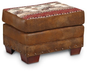 American Furniture Classics Deer Valley Lodge Ottoman