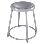 National Public Seating 6418 45.7cm Stool with Vinyl Upholstered Seat