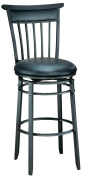 Hillsdale Furniture Cottage 99.1cm Swivel Counter Stool, Rubbed Black Finish