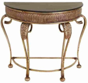 Benzara 42773 Metal Console Table Decorative But Affordable