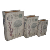 Cheungs Rattan Coral and Sea Book Box
