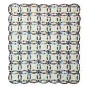 Patch Magic Country Wedding Ring Quilt
