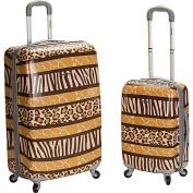 Rockland Luggage Safari 1 - 2 Piece Hardside Luggage Set