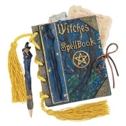 Design Toscano Witches Mystic Spell Book and Pen