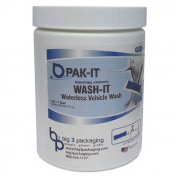 Wash-It Waterless Vehicle Wash, Breezy Scent, 20/Jar