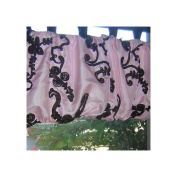 Blueberrie Kids Chambord Tab Top Balloon Curtain Valance