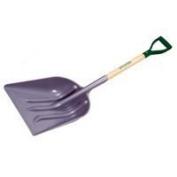 Mintcraft 33279 PLA-12 Grain Scoop Poly With Premium Wood Hn Ash Handle - Each