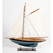 Old Modern Handicrafts Penduick Painted Yacht