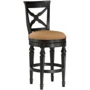 Hillsdale Furniture Northern Heights 117.5cm Swivel Bar Stool, Black Honey Finish