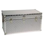 Silver Steel Trunk