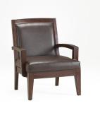Comfort Pointe Fowler Vinyl Arm Chair