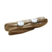 Dekorasyon Gifts & Decor Flat Wood 2-Tealight Candleholder