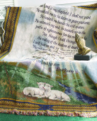Manual Woodworkers & Weavers 23rd Psalm Tapestry Throw