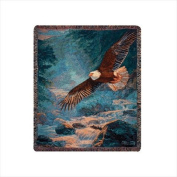 Manual Woodworkers & Weavers American Majesty Tapestry Throw