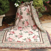 Manual Woodworkers & Weavers Warm Embrace Tapestry Throw