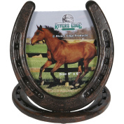 Rivers Edge Products 10.2cm x 15.2cm Horseshoe Picture Frame