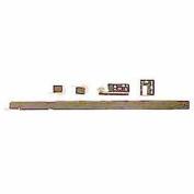 Knape and Vogt 1175PZC 46cm Zinc Single Track Drawer Slide Kit