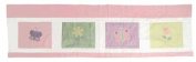 PEM America Spring Meadow Window Valance With Flowers Design