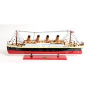 Old Modern Handicrafts Lage Titanic Painted Ship