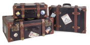 Imax 5972-3 Labeled Suitcases - Set of 3