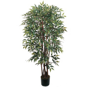 Nearly Natural 5081 Potted Similax Silk Tree 4 ft