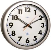 Bai 41cm Aquamaster Weatherproof Wall Clock, Futura White