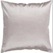 45.7cm Shiny Solid Light Sage Green Decorative Throw Pillow