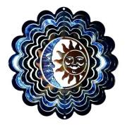Next Innovations Kaleidoscope Sun and Moon Wind Spinner