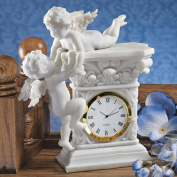 Design Toscano Baroque Twin Cherubs Desktop Clock