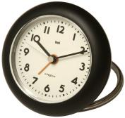 Bai Design Rondo Travel Alarm Clock in Black