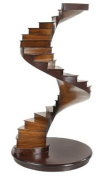 Authentic Models 15H in. Spiral Stairs Model