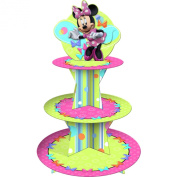 Hallmark 221949 Disney Minnie Mouse Bow-tique Cupcake Stand