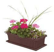 Myers-itml-akro Mils 30in. Chocolate Venetian Flower Boxes VNP30000E21 - Pack of 6