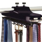 Richards Homewares Inc. 75750 BATTERY OPERATED- BLK Tie Rack