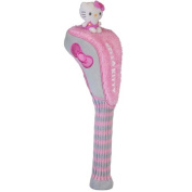 Williams Sports Holdings HC-HKG.MM.DR.G-P Hello Kitty Golf Driver Mix & Match Grey- Pink Headcover