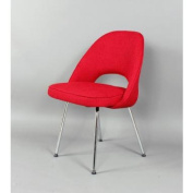Kirch DC665RED The Johnson Side Chair - Red