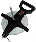 Olympia Sports TR023P Open Reel Fibreglass Measuring Tape - 90m